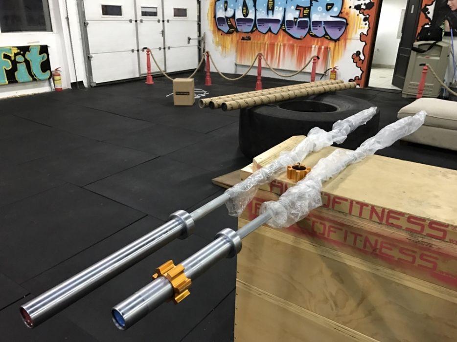 Crossfit Bara Olimpica 20 kg si 15 kg Professionalā
