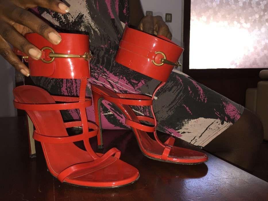 Sapatos da Gucci original, usado somente uma bez