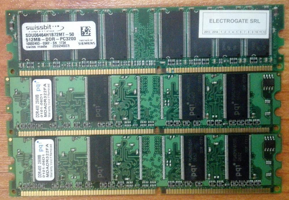 Ram DDR1 512mb+2 de 256mb!