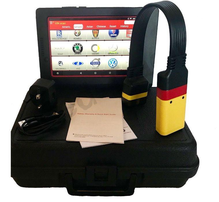 Tester Auto Profesional Kit Diagnoza X431 + Tableta 10 inch v.2018.10