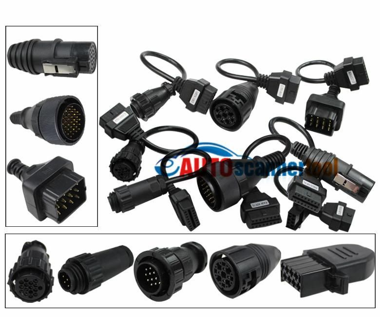Set cabluri adaptoare interfata DELPHI/AUTOCOM/CDP ,camioane si tiruri