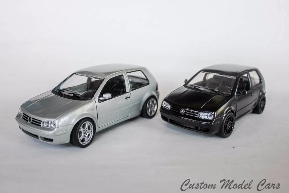 Умалени модели на VW Golf 4 в мащаб 1/24 по поръчка!