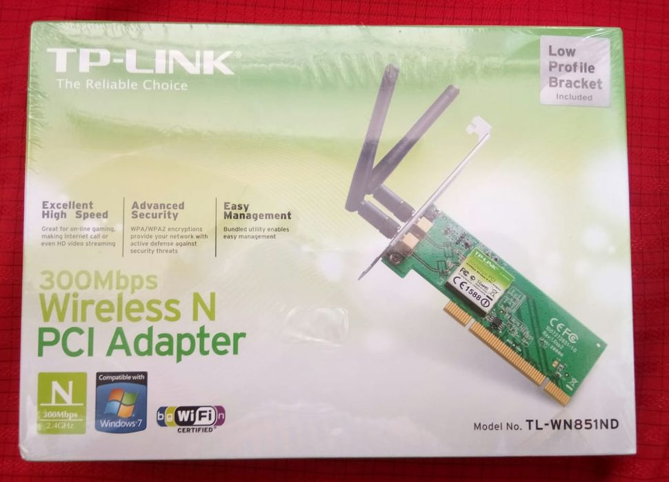 TP -LINK Wireless N PCI Adapter