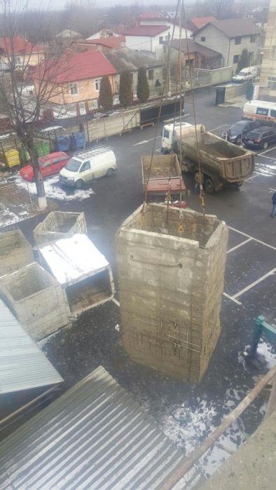 Demolari decupaje taiere beton armat gauri prin carotare