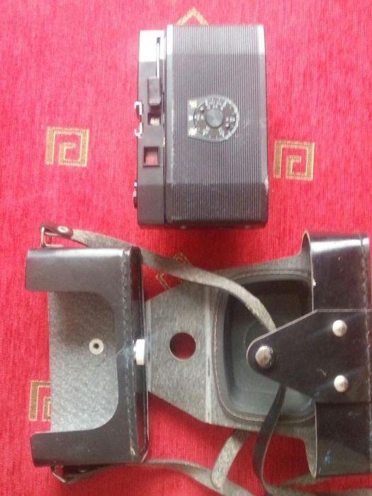 Два ретро фото апарата СМЕНА-СИМВОЛ и ВИЛИЯ-VILIA