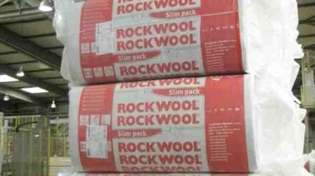 Vata bazaltica Rockwool mansarda / pereti interiori, tavane, 10cm