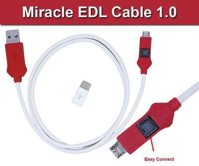 Cablu Miracle EDL (micro usb si Type C)
