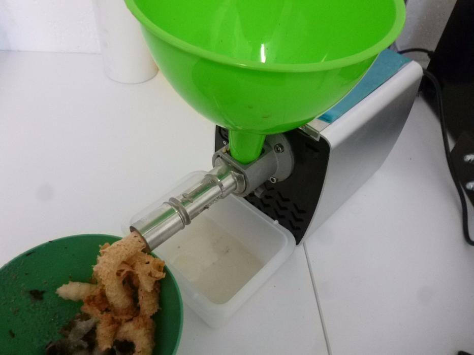Presa ulei cocos (fulgi) 220V - 0.2 Kw