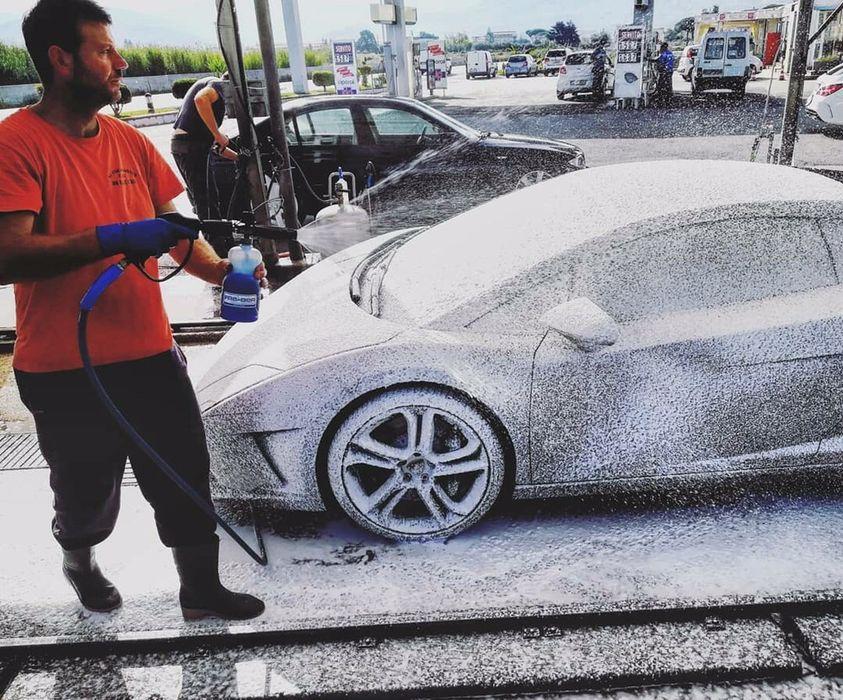 Lance spuma Spalatorie auto și detergenți spuma activa