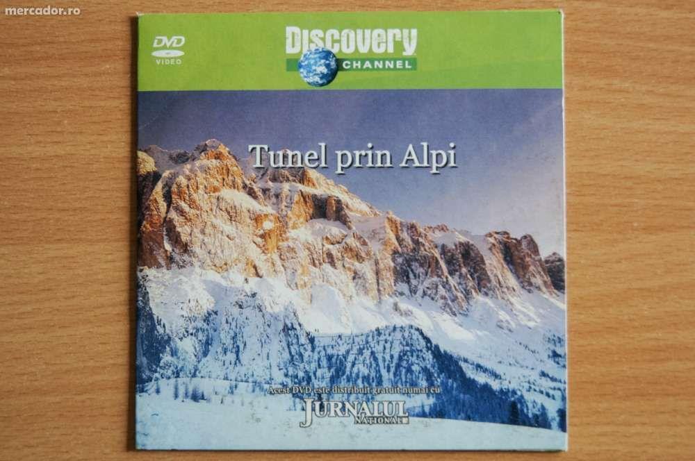 """dvd Discovery - """"Tunel prin Alpi"""""""