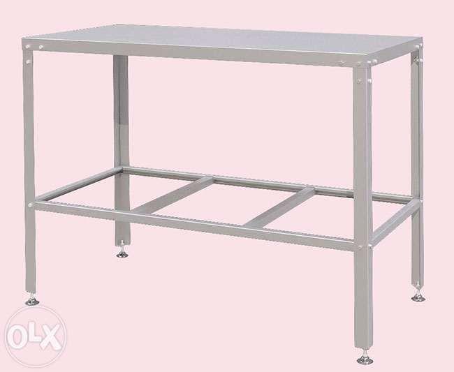Разделочные столы, стелажи из нерж стали