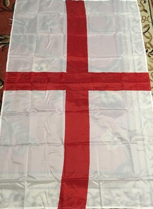 знаме англия гр. Враца - image 1