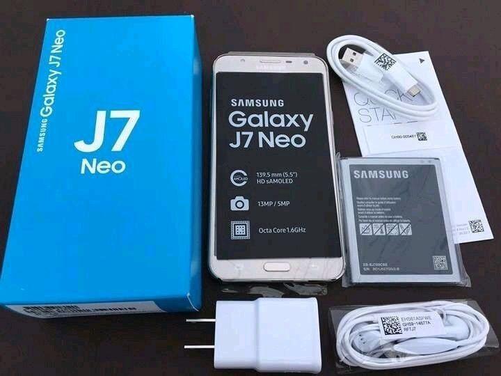 Samsung j7 Neo na caixa selado