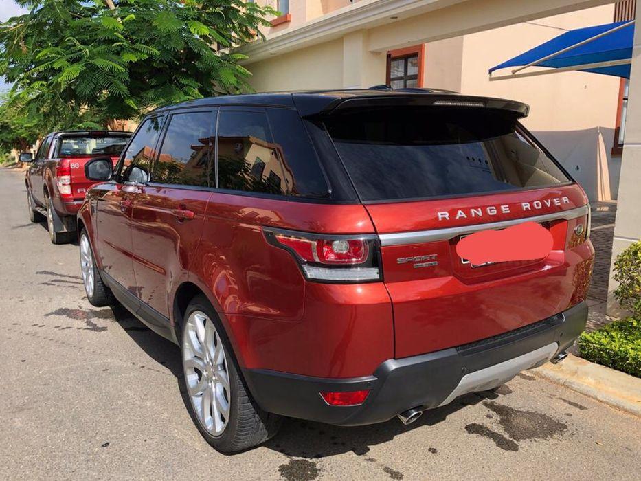 A venda Range Rover HSE brutal