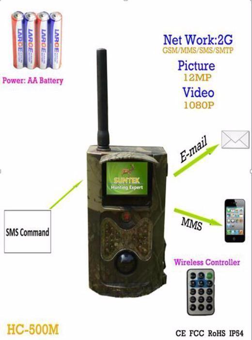 Ловна камера suntek HC-550M mms i email