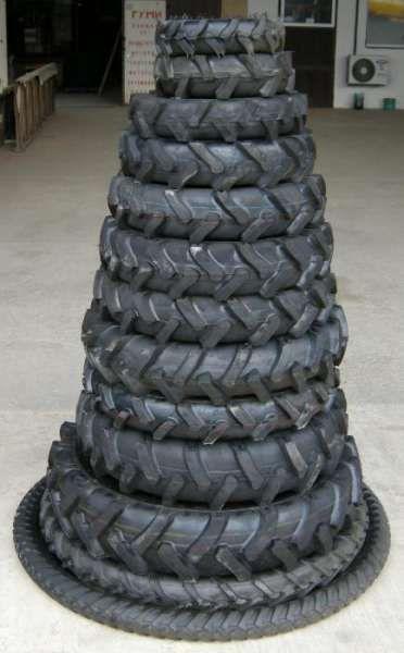 Външни гуми за трактори и селскостопанска техника рибена кост