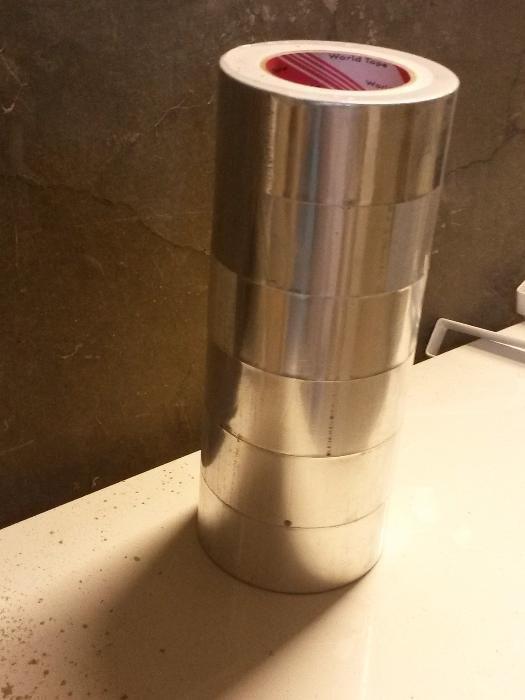 Алуминиева лента лепяща/за вентилации,климатизации и др