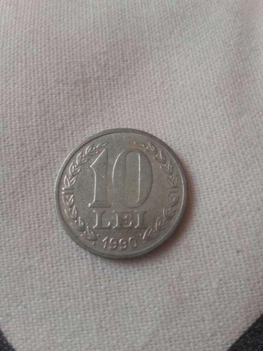 Moneda 10 lei 22 Decembrie 1989
