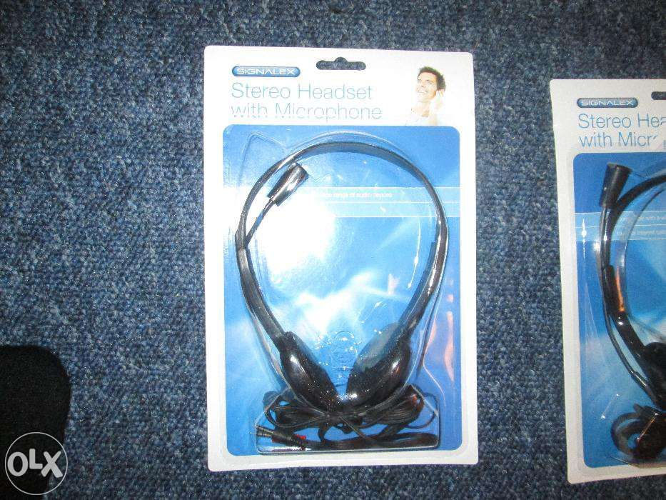 Casti Stereo Headset with microphone.Made in UK