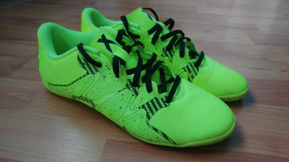 Adidasi Ghete de fotbal Adidas Galben Neon X 15.4 marimea 39-40