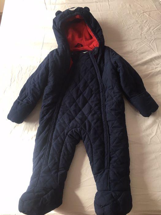 Combinezon gros toamna iarna bebe 9-12 luni
