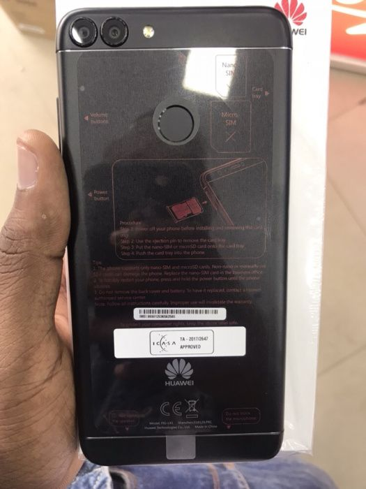 Huawei p Smart na caixa selado