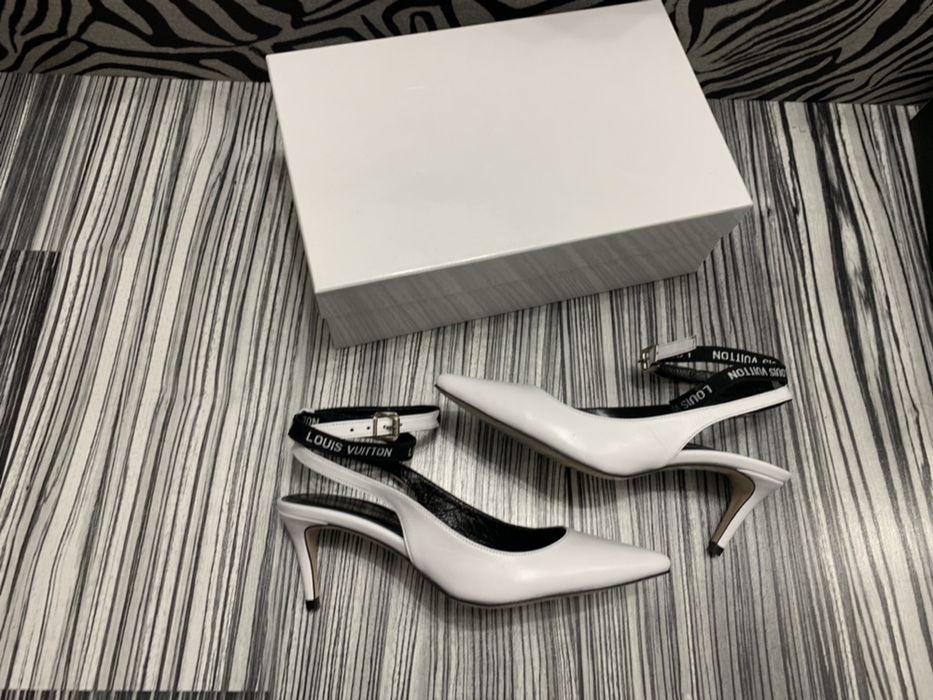 Pantofi LOUIS VUITTON-piele naturală 100%POZE REALE!Calitate superioar