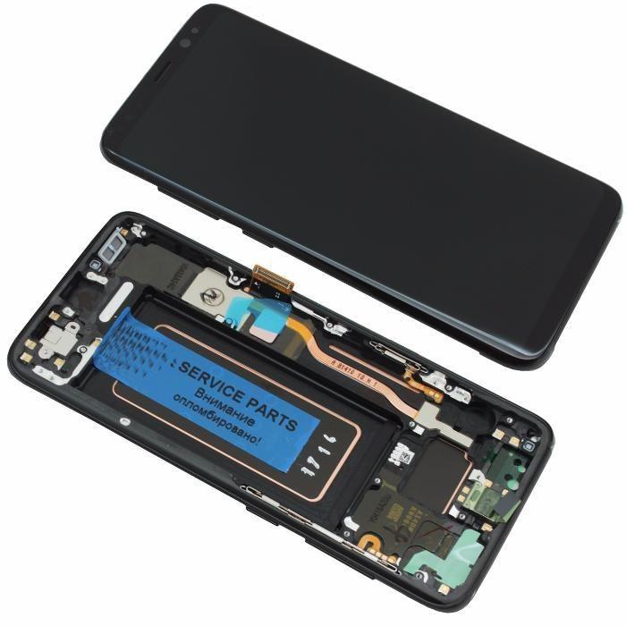Замена дисплея, экрана Samsung Galaxy S8/S8 Plus есть бу дешевле