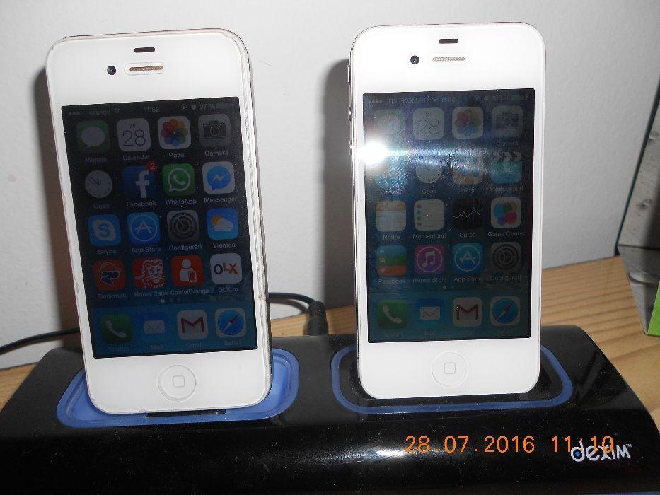 dock dublu pt incarcare iphone 4, 4s