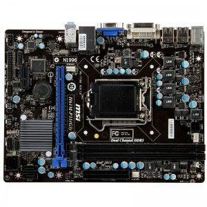 Kit Placa Baza Desktop - MSI H61M-P31(G3),Procesor Intel Core i5-2400