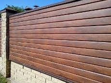 Забор из металлосайдинга