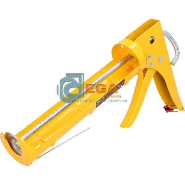 Пистолет за силикон усилен FASTER TOOLS PROFI 225мм.