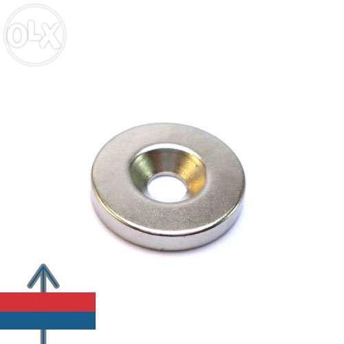 Magnet neodim oala D 20 mm - fara carcasa