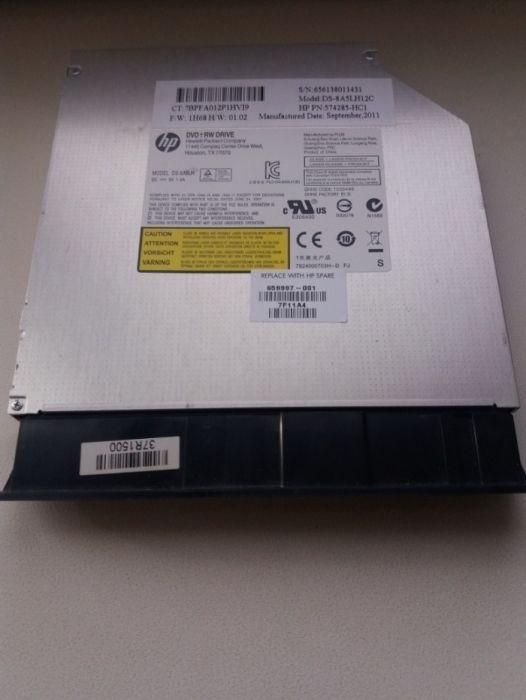 Продам дисковод на ноутбук НР
