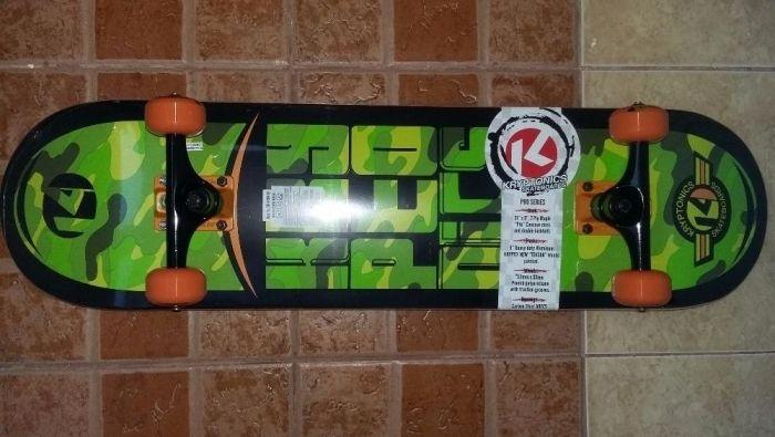 Skateboard Kryptonics PRO, original, sigilat
