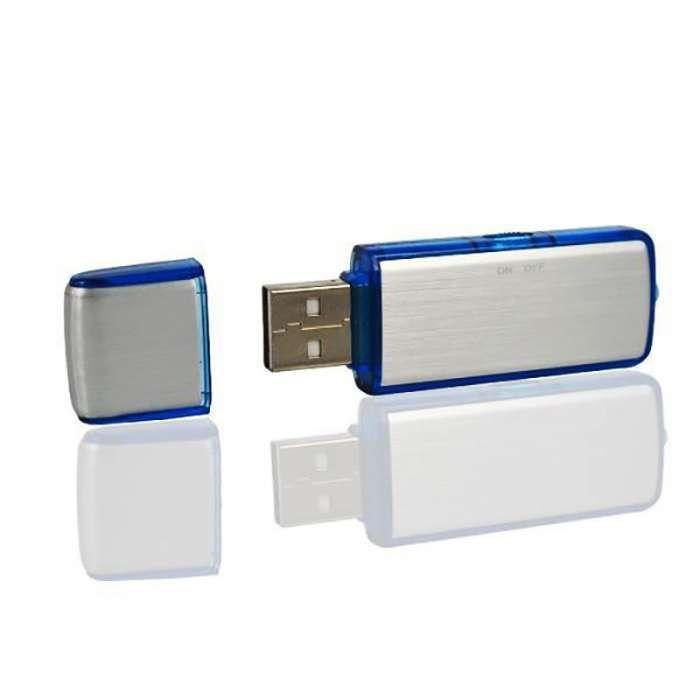 Reportofon spy stick USB 8GB audio recorder 12 ore spion