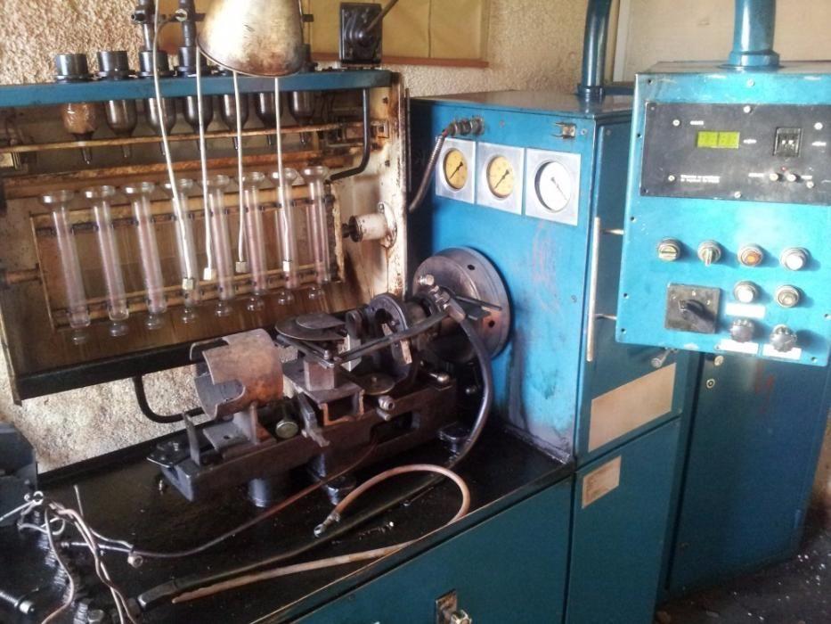 Banc electronic de reparat/centicubat pompe de injectie
