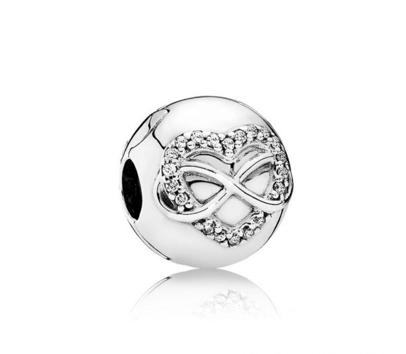 Clips Pandora Original - Inima Infinitului, din argint
