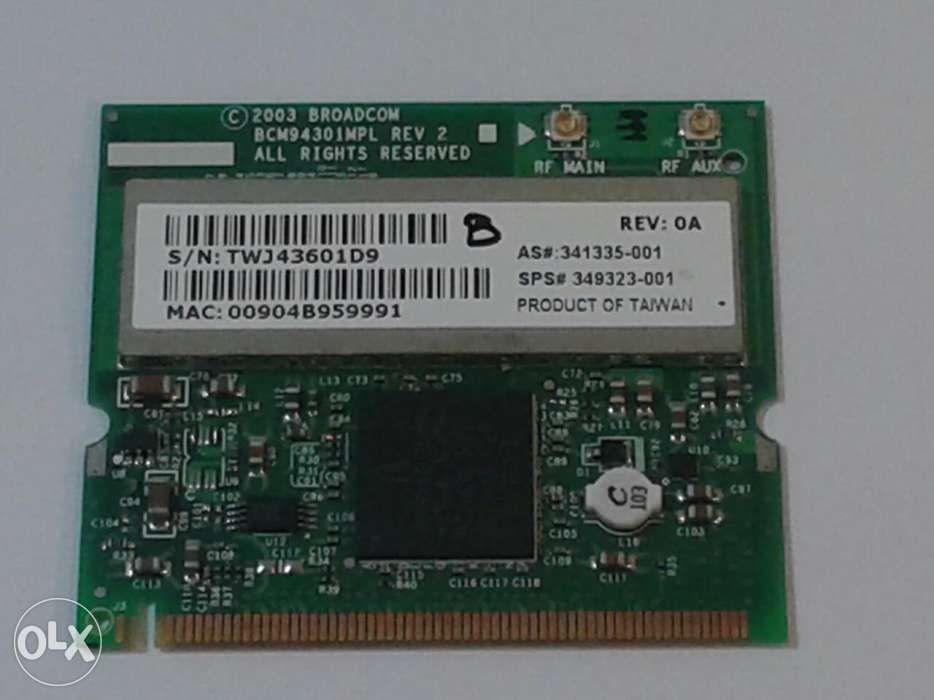 Placa retea wireless Mini PCI Broadcom BCM94301MPL