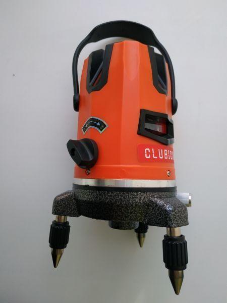 Самовыравнивающийся лазерный уровень, нивелир CLUBIONA 5-линий 6-точек