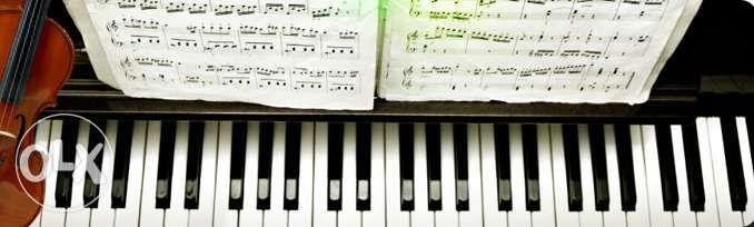 Prof. de acordeon , orga , chitara , pian , canto , teorie