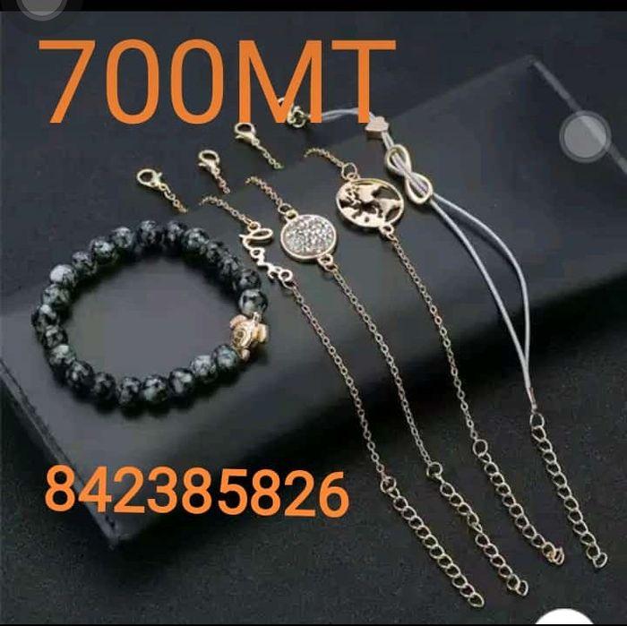 Promoção 5 pulseiras por 600Mt Bairro do Xipamanine - imagem 2