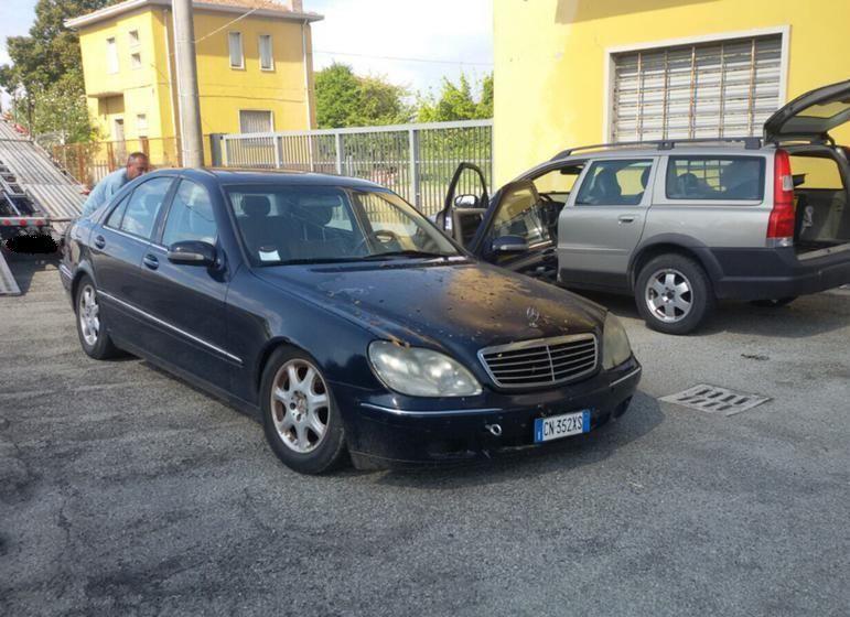 Mercedes S 320 на части / Мерцедес S320 W220 на части