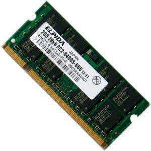 Memorie RAM 2Gb DDR2 PC2-6400 compatibil 667Mhz PC2-5300