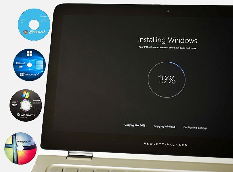 instalez Windows, Instalare Office, Programe, drivere -deplasare