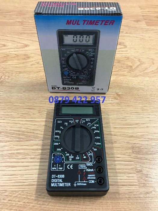 Мултицет DT-830B LCD Digital мултицет