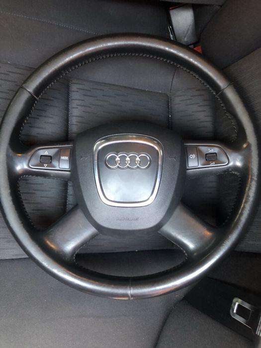 Volan piele Audi A4 b7/b6 cu comenzi si Airbag