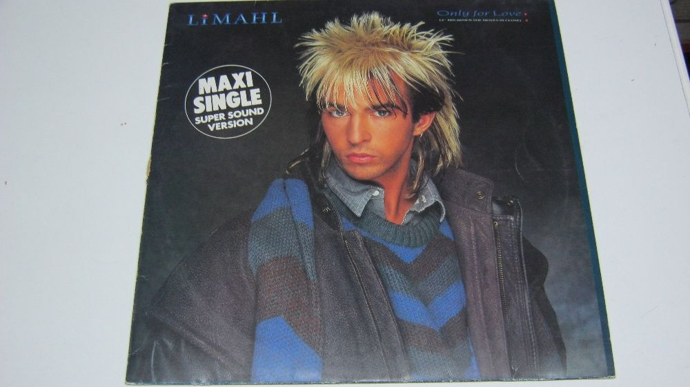 Disc vinil,Limahl,Maxi,original,Only for Love!
