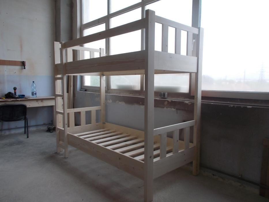 Pat etajat din lemn masiv cod BN-019