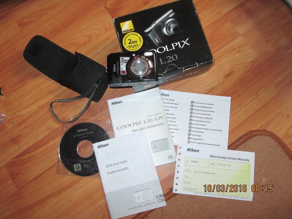 Aparat foto Nikon Coolpix L20